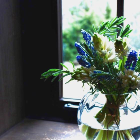 帽子とお花