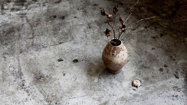 時計とお花