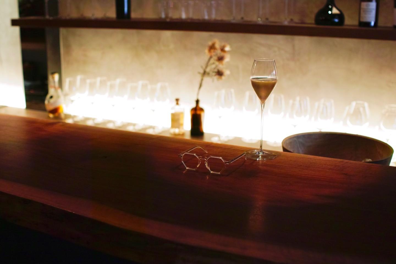 お酒と眼鏡