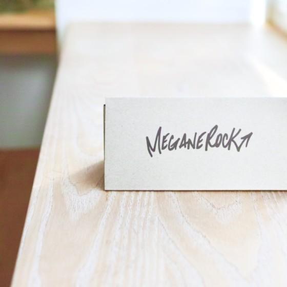 MEGANEROCKの製作技法について【芯張り】