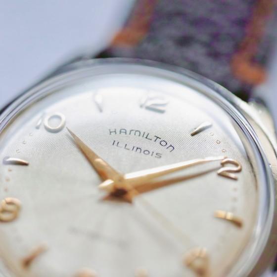 ヴィンテージ時計・HAMILTONのご紹介