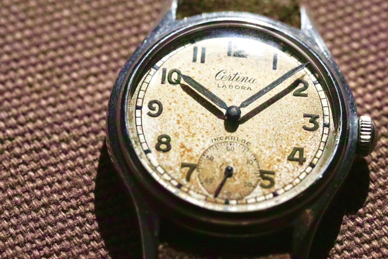 ヴィンテージ時計・Certinaのご紹介