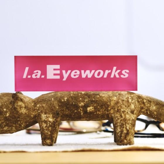 新ブランド l.a. Eyeworks(エルエーアイワークス)